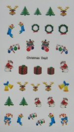Christmas Nail Stickers (2)