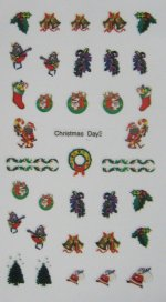 Christmas Nail Stickers (3)