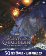 Disney Pirates of the Caribbean - 50 tattoo Gift Pack