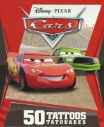 Disney Pixar Cars: 50 tattoo Gift Pack