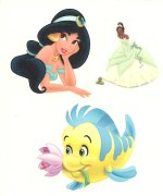 Disney Princess collection sheet 4