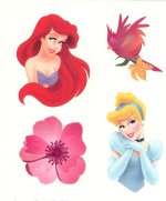 Disney Princess collection sheet 6