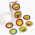 Smiley Face sticker - 50 stickers