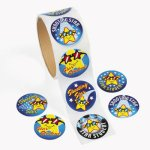 Reward Star Student Stickers:  Pack of 50