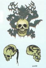 Disney Pirate Collection Tribal Skulls
