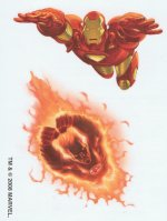 Marvel Superheroes Ironman & Human Torch