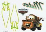 Disney Cars collection Mater