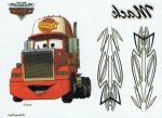 Disney Cars collection Mack