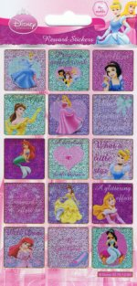 Disney Princess reward stickers