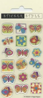 Craft Stickers: Butterflies