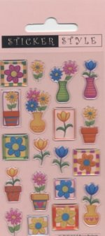 Craft Stickers: Flowers and Petals