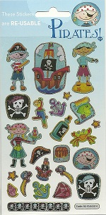 Pirates Holofoil Stickers