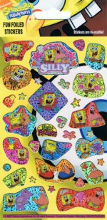 SpongeBob SquarePants Holofoil Stickers
