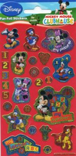 Mickey Mouse Clubhouse Fun Foil Stickers