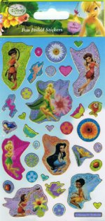 Disney Fairy Holofoil Stickers