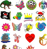 A Large Mixed Tattoo Selection  120 tattoos