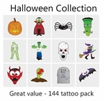 A Halloween Collection mega pack of 144