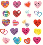 A Valentines Selection of Tattoos - Pack of 60