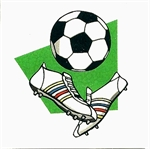 Children's Football temporary tattoo
