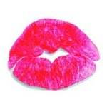 Luscious lips temporary tattoo