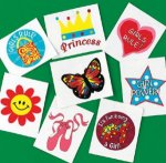 'Fun Girl' temporary tattoos