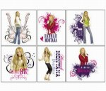 Hannah Montana Genuine Tattoos: 12 Pack