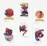 Spiderman 3 tattoos (new designs): 6 pack