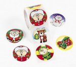 Christmas Fun Stickers: 50 stickers
