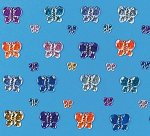 Butterfly gems - pack of 30