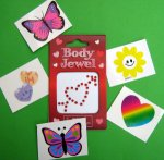 Body Jewel and tattoo gift pack