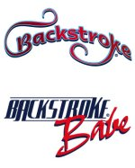 Backstroke swimming tattoos
