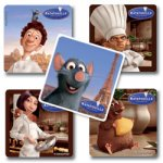 Ratatouille children's sticker collection: 15 stickers