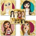 Genuine Bratz stickers: 15 stickers