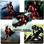 Genuine Ironman stickers: 15 stickers