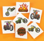 Chopper bikes tattoos