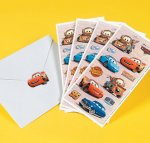 Disney's Cars Stickers: 1 sheet of kids stickers