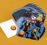 Halloween sticker sheets: 12 sheet pack