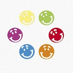 Smiley Face Confetti - 5g bag