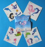 Dolphin Tattoos: Gift Pack of 13