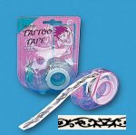 Tribal design temporary tattoo tape