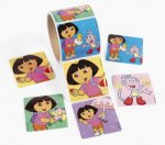 Dora the Explorer Stickers: Pack of 20 large stickers