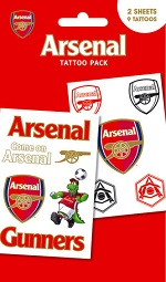 Arsenal Football supporters tattoo pack