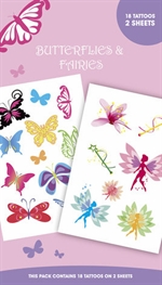 Butteflies and Fairies - tattoo pack