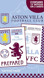 Aston Villa Football supporters tattoo pack
