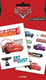 Disney Pixar Cars tattoo pack