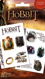 The Hobbit 'an unexpected journey' tattoo pack