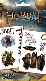 The Hobbit 'The desolation of Smaug' tattoo pack