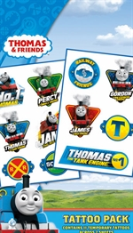 Thomas the Tank Engine and Friends - tattoo pack