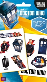 Doctor Who - tattoo pack