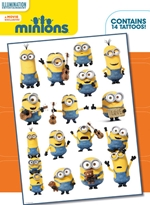 Minions tattoo pack: 14 tattos